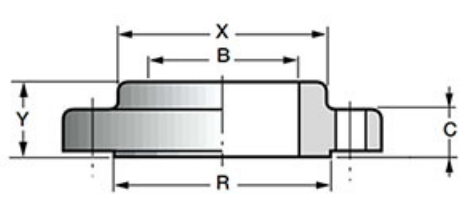 Фланец WN 30 S20 Ду 750 Pn 300 ст. А350-LF2 CL1 ASME B 16.47