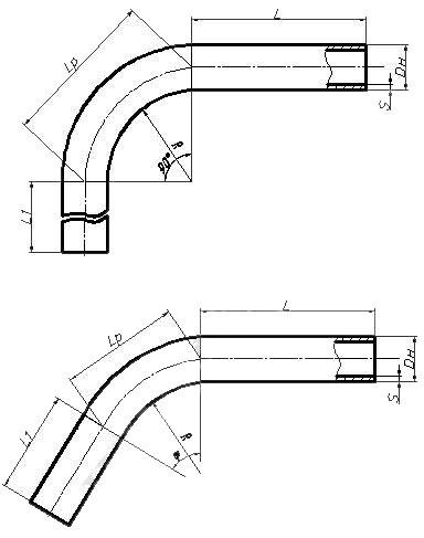 Отвод ОСТ 34-10-420-90