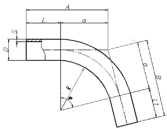 Отвод ОСТ 36-42-81