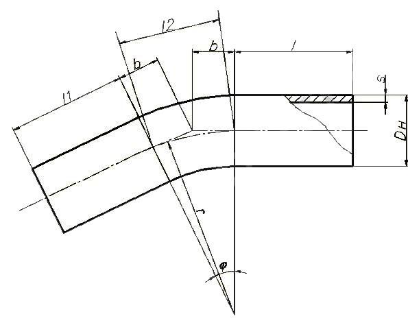 Отводы ОСТ 108.321.18-82 (гнутые)