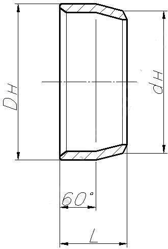 Переход ОСТ 108.318.17-82 (концентрический)