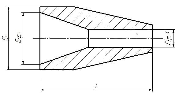 Переход ОСТ 34-42-664-84 (концентрический)